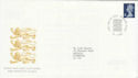 1999-01-19 E Definitive Stamp Windsor FDC (63264)