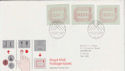 1984-05-01 Postage Labels Windsor FDC (63282)