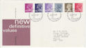 1981-01-14 Definitive Stamps Bureau FDC (63285)