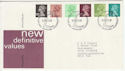 1980-01-30 Definitive Stamps Bureau FDC (63286)