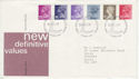 1981-01-14 Definitive Stamps Windsor FDC (63287)