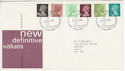 1980-01-30 Definitive Stamps Bureau FDC (63288)
