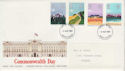 1983-03-09 Commonwealth Day Stamps Devon FDC (63309)