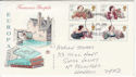 1980-07-09 Authoresses Stamps Llanelli FDC (63332)