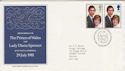 1981-07-22 Royal Wedding Stamps Bureau FDC (63339)