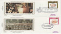 1980-09-10 British Conductors Stamps x4 FDC (63367)