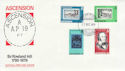 1979-12-17 Ascension Rowland Hill Stamps FDC (63405)