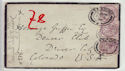 Queen Victoria mourning envelope (63458)