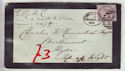 Queen Victoria mourning envelope (63459)