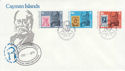 1979-08-15 Cayman Islands Rowland Hill Stamps FDC (63463)