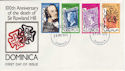 1979-03-19 Dominica Rowland Hill Stamps FDC (63468)