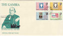 1979-08-16 The Gambia Rowland Hill Stamps FDC (63473)