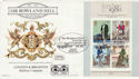 1979-10-24 Rowland Hill M/S Brighton Rly FDC (63491)
