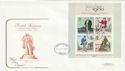 1979-10-24 Rowland Hill Stamps M/S Bristol FDC (63494)
