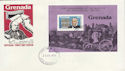 1979-07-23 Grenada Rowland Hill Stamps M/S FDC (63495)