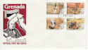 1979-10-04 Grenada Rowland Hill Stamps FDC (63497)