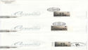 2001-02-06 Occasions Stamps Special Pmk x7 FDC (63514)