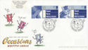 2003-02-04 Occasions Stamps LS12 Flowerdown FDC (63523)