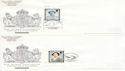 2002-04-25 Queen Mother Stamps x10 SHS FDC (63565)