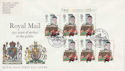 1985-07-30 Discount Booklet Stamps Cyl London FDC (63578)