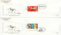 1999-02-02 Travellers Tale Stamps x2 SHS FDC (63593)