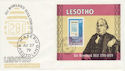1979-10-22 Lesotho Rowland Hill Stamp M/S FDC (63613)