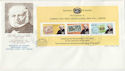 1979-02-27 Nauru Rowland Hill Stamps M/S FDC (63625)