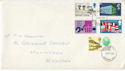 1969-04-02 Anniversaries Stamps London FDC (63641)