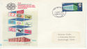 1969-04-02 Europa 10th Anniv Scarborough FDC (63651)