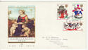 1968-11-25 Christmas Stamps Birmingham FDC (63675)