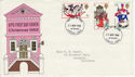 1968-11-25 Christmas Stamps Bethlehem FDC (63680)