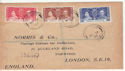 1937-05-12 Virgin Islands Coronation Stamps FDC (63684)
