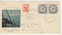 Australia 1954 Antarctic Expeditions Stamps FDC (63688)