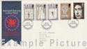 1969-07-01 Investiture Stamps Caernarvon FDC (63693)