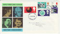 1967-09-19 British Discovery Stamps London FDC (63735)