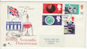 1967-09-19 British Discovery Stamps Plymouth FDC (63738)