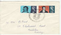1966-01-25 Robert Burns Stamps Dumfries FDC (63745)