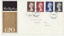 1969-03-05 High Value Definitive Stamps London FDC (63758)