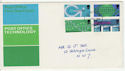 1969-10-01 PO Technology Stamps London FDC (63789)