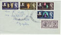 1964-04-23 Shakespeare Stamps Plymouth FDC (63795)