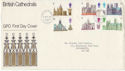 1969-05-28 British Cathedrals Stamps Bureau FDC (63800)
