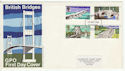 1968-04-29 British Bridges Stamps Plymouth FDC (63816)