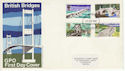 1968-04-29 British Bridges Stamps Plymouth FDC (63817)