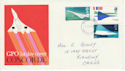 1969-03-03 Concorde Stamps Llanelli FDC (63823)