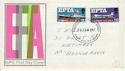 1967-02-20 EFTA Stamps Phos Kingston FDC (63831)