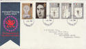 1969-07-01 Investiture Stamps London FDC (63851)