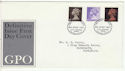 1967-06-05 Definitive Stamps Bureau FDC (63891)