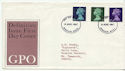 1967-08-08 Definitive Stamps Windsor FDC (63899)