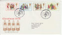 1978-11-22 Christmas Stamps Bethlehem FDC (63938)