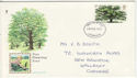 1973-02-28 British Trees Stamp Liverpool FDC (63949)